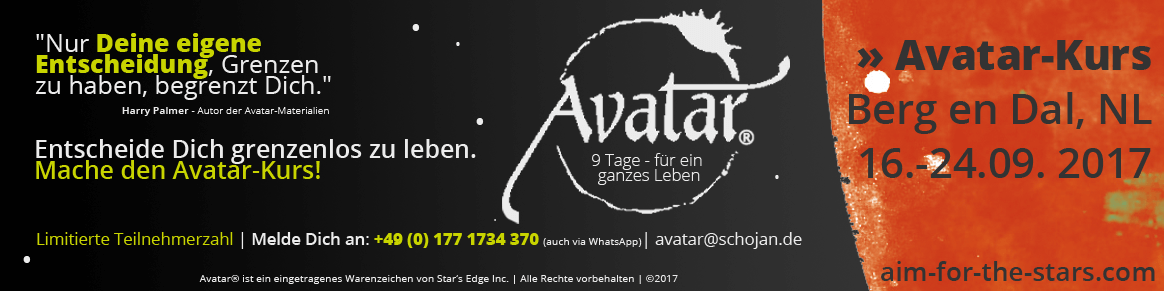 Avatar Kurs Banner für Berg en Dal im September 2017