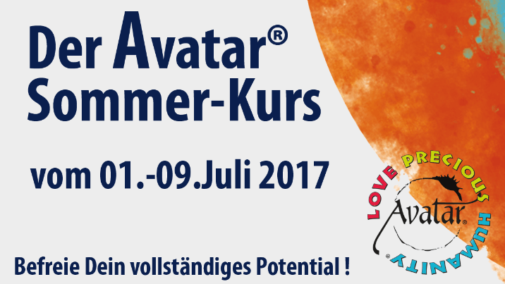 Avatar-Kurs-International in Orlando im Juli 2017 von Steffen Schojan