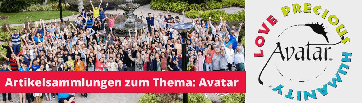 Artikelverzeichnis: Avatar und der Avatar Kurs