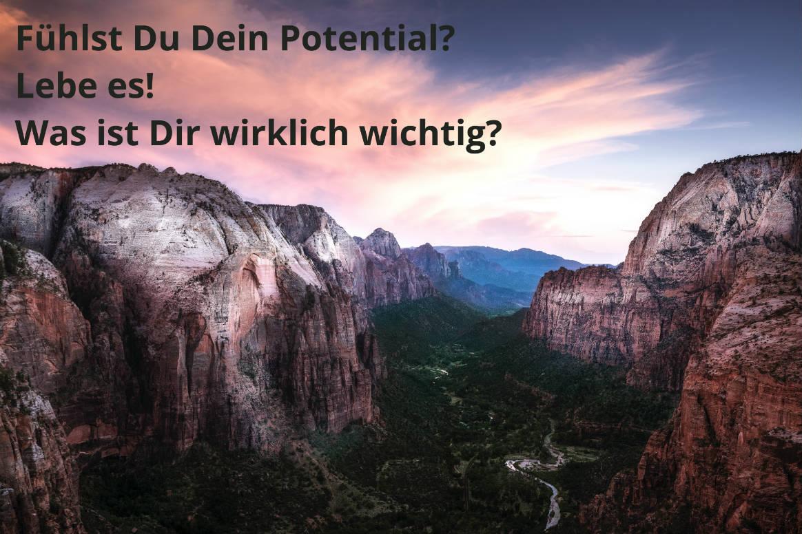 Avatar-Artikelverzeichnis: volles Potential leben, Motiv Berge