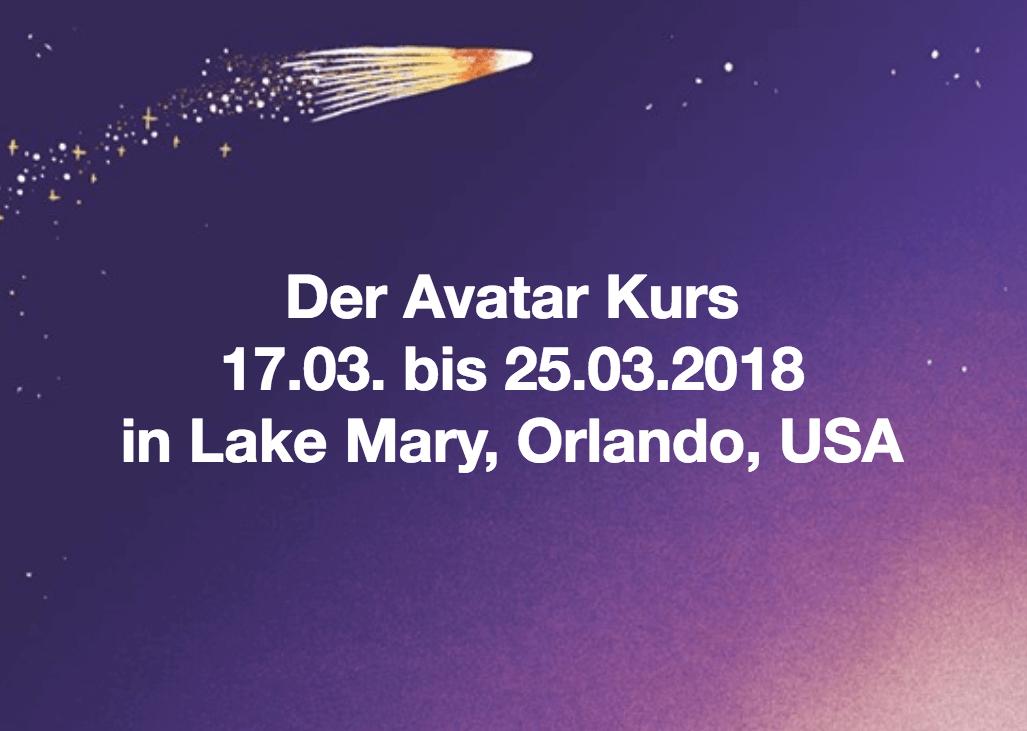 Der Avatar Frühjahrskurs 2018