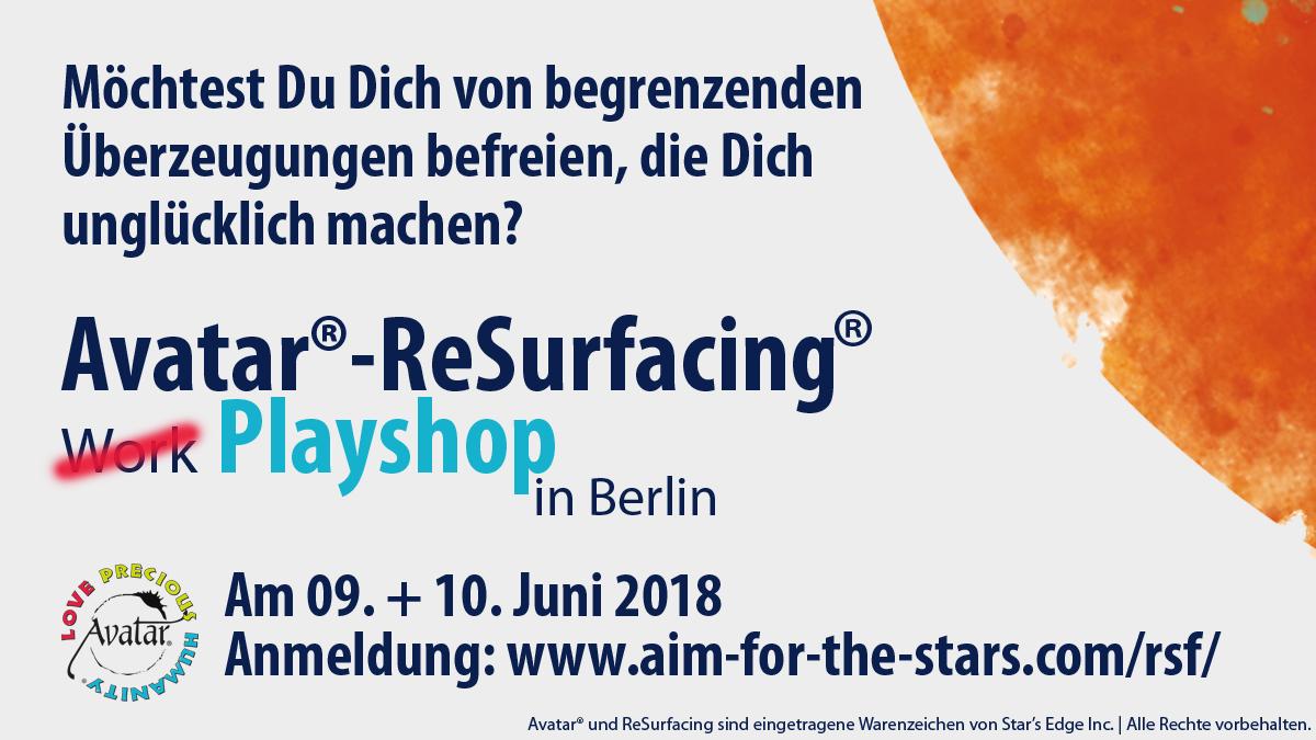 ReSurfacing-Workshop-Berlin im Juni 2018