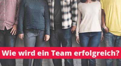 Thoughtstorm-Meetup: Wie wird ein Team erfolgreich?